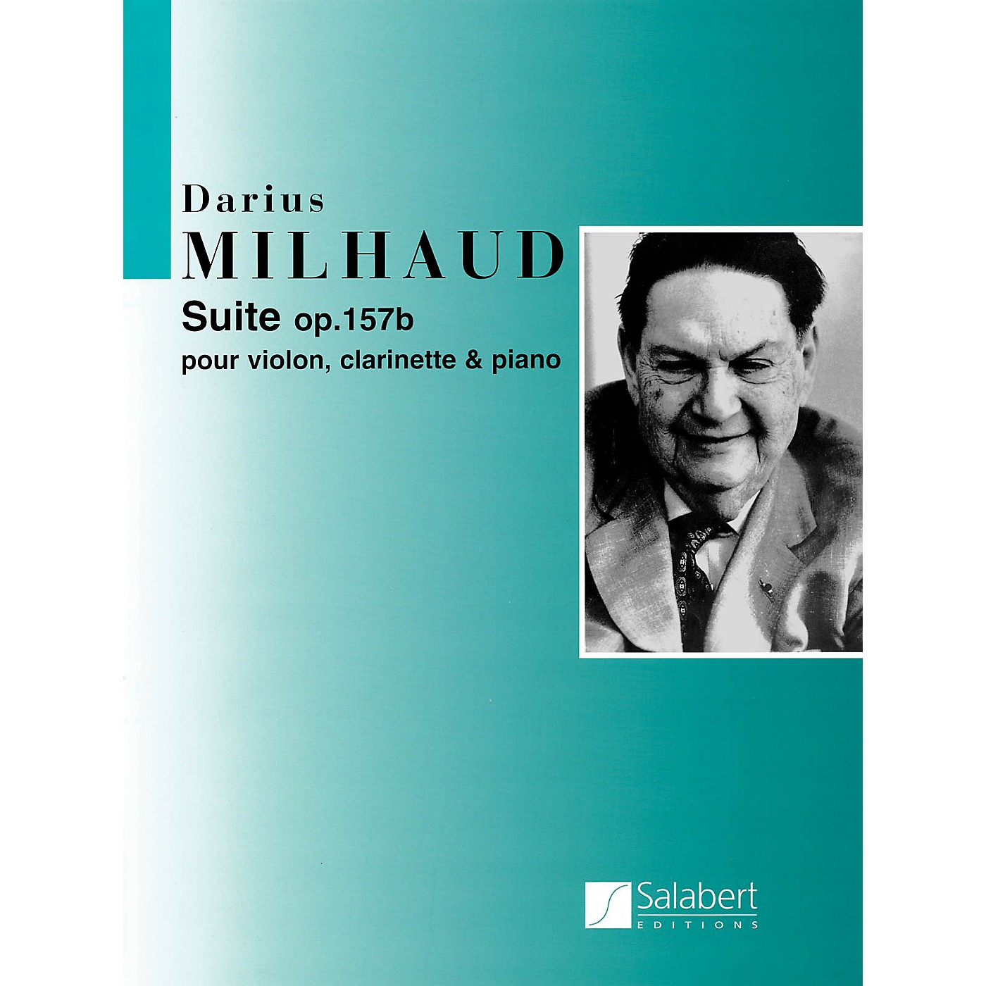 Editions Salabert Suite Op. 157b (Score and Parts) Woodwind Ensemble Series Composed by Darius Milhaud thumbnail