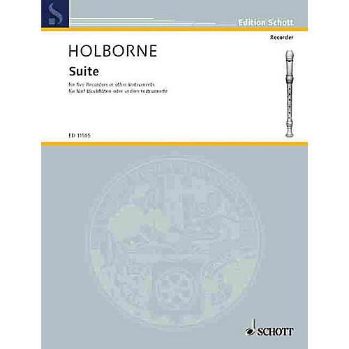 Schott Suite (Performance Score) Schott Series by Anthony Holborne thumbnail