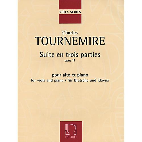 Max Eschig Suite en trois parties, Op. 11 (Viola and Piano) Editions Durand Series thumbnail