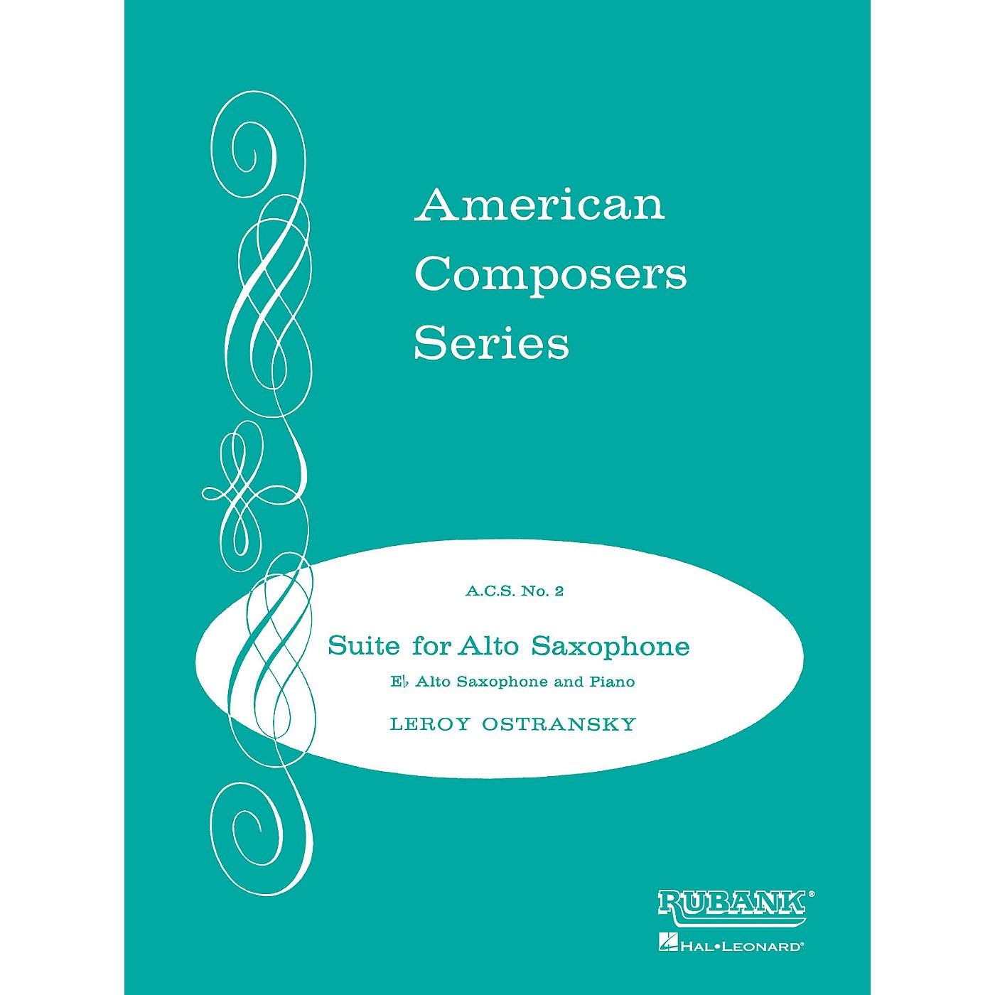 Rubank Publications Suite for Alto Saxophone (Grade 4) Rubank Solo/Ensemble Sheet Series thumbnail