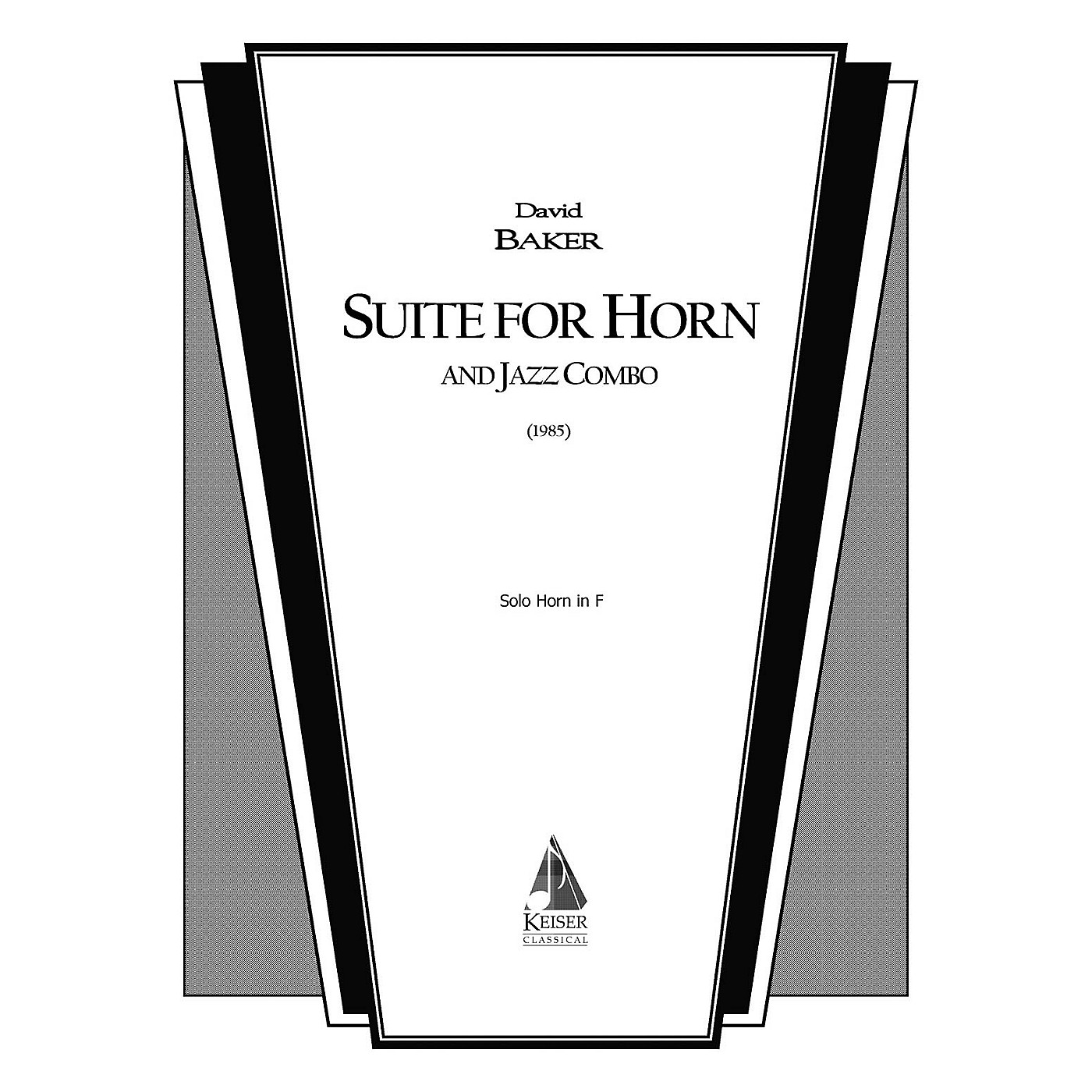 Lauren Keiser Music Publishing Suite for Horn and Jazz Combo (Horn Part) LKM Music Series thumbnail