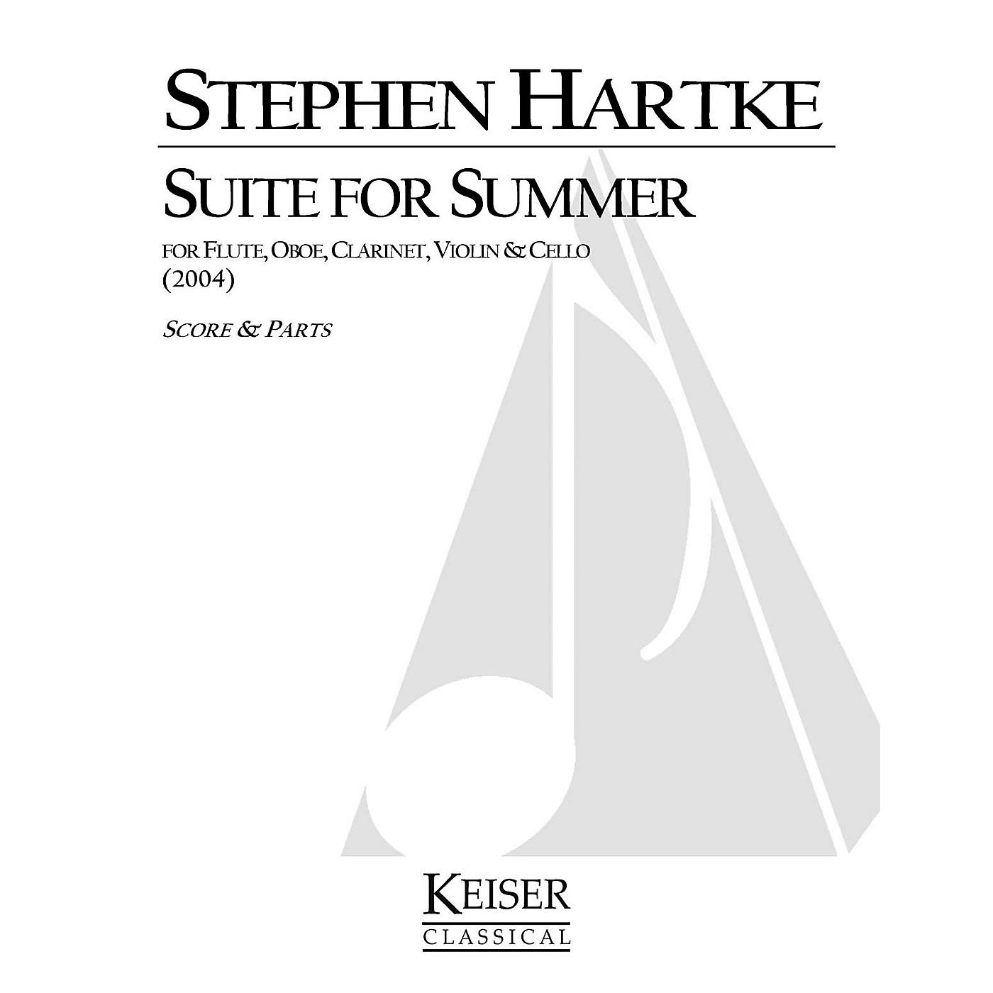 Lauren Keiser Music Publishing Suite for Summer LKM Music Series Composed by Stephen Hartke thumbnail