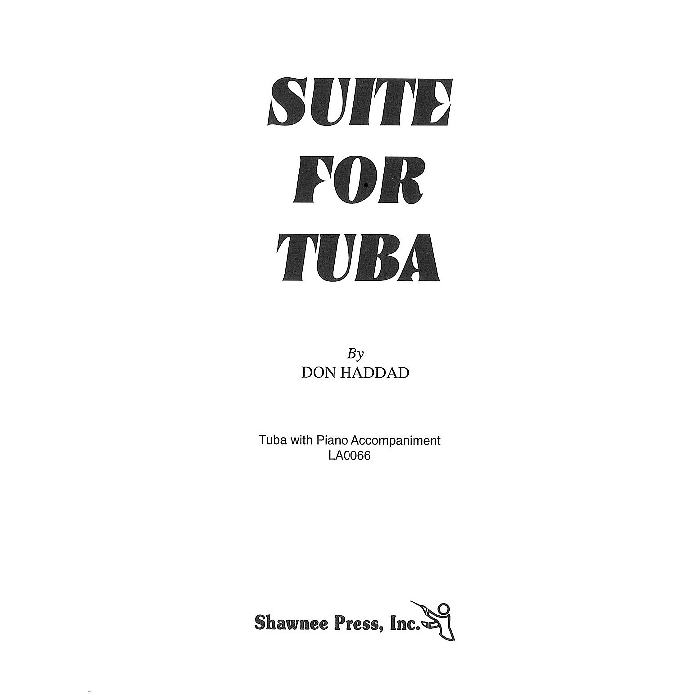Shawnee Press Suite for Tuba (Tuba in C (B.C.) and Piano) Shawnee Press Series thumbnail