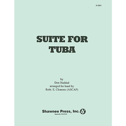 Hal Leonard Suite for Tuba (arranged for Tuba and Symphonic Band) Concert Band Level 4 Arranged by Robert E. Clemons thumbnail