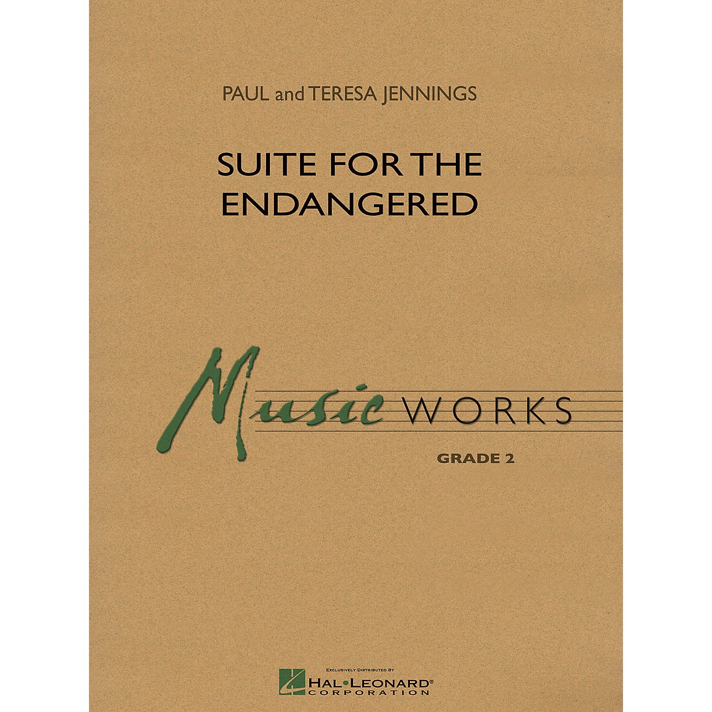 Hal Leonard Suite for the Endangered Concert Band Level 2 Composed by Paul Jennings thumbnail