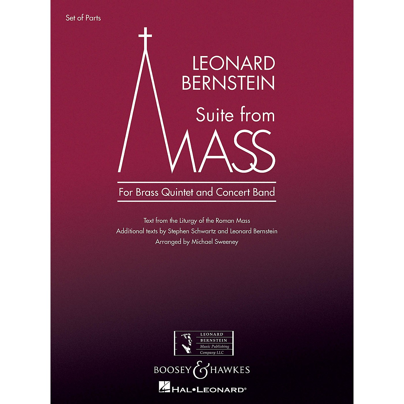 Boosey and Hawkes Suite from Mass Concert Band Level 5 Composed by Leonard Bernstein Arranged by Michael Sweeney thumbnail