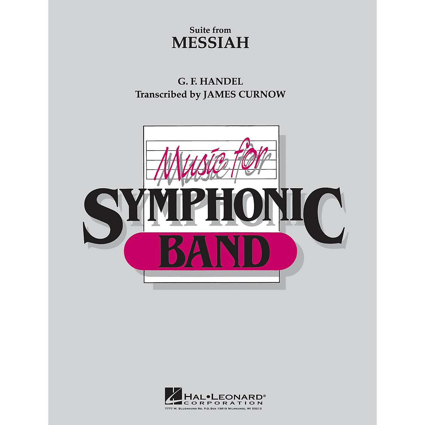 Hal Leonard Suite from Messiah Concert Band Level 4 Arranged by James Curnow thumbnail