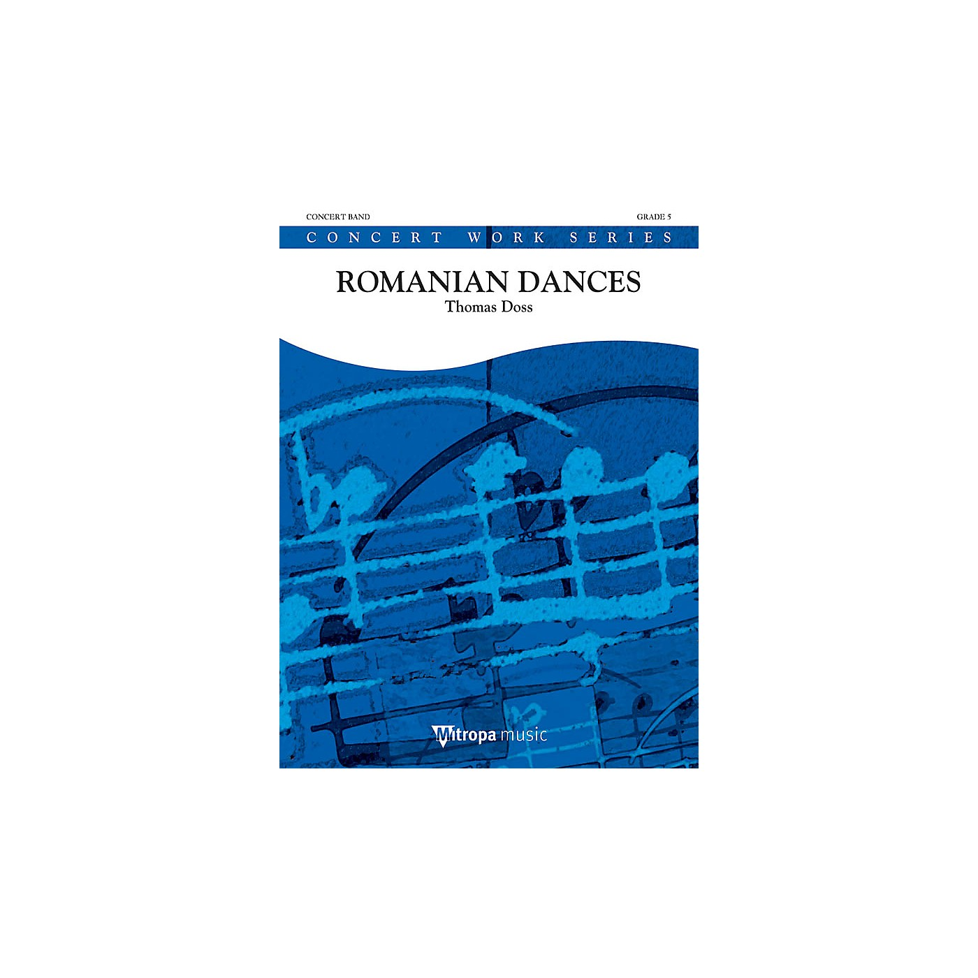 Hal Leonard Suite from Romanian Dances (Score) Concert Band Level 5 Composed by Thomas Doss thumbnail