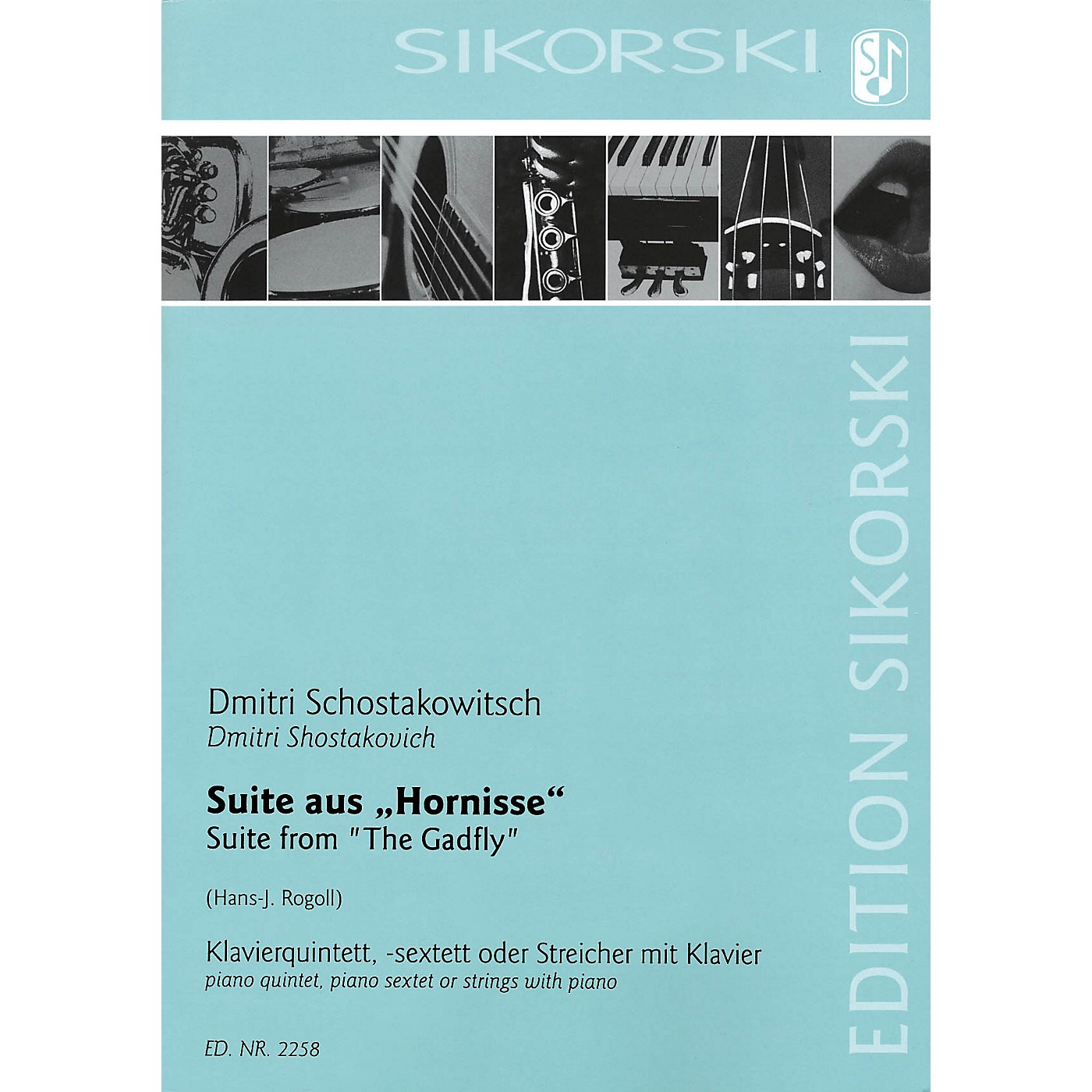 Sikorski Suite from The Gadfly (Score and Parts) Ensemble Series thumbnail