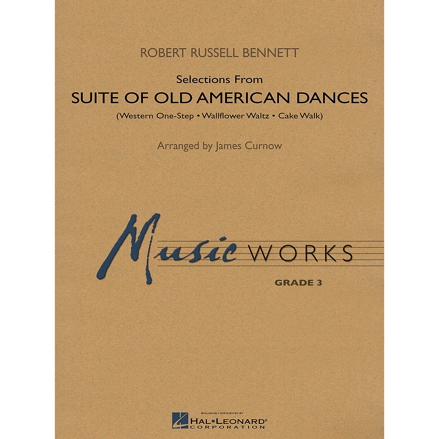 Hal Leonard Suite of Old American Dances (Selections) Concert Band Level 3 Arranged by James Curnow thumbnail