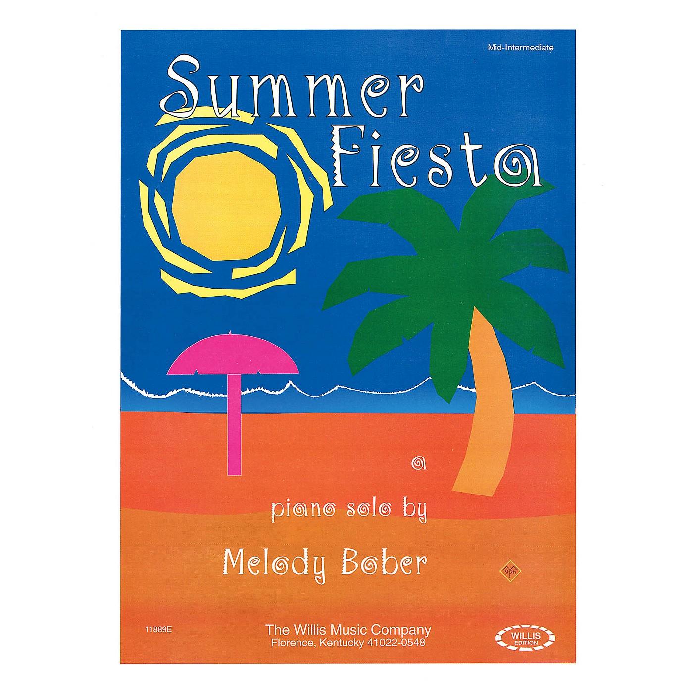 Willis Music Summer Fiesta (Mid-Inter Level) Willis Series by Melody Bober thumbnail