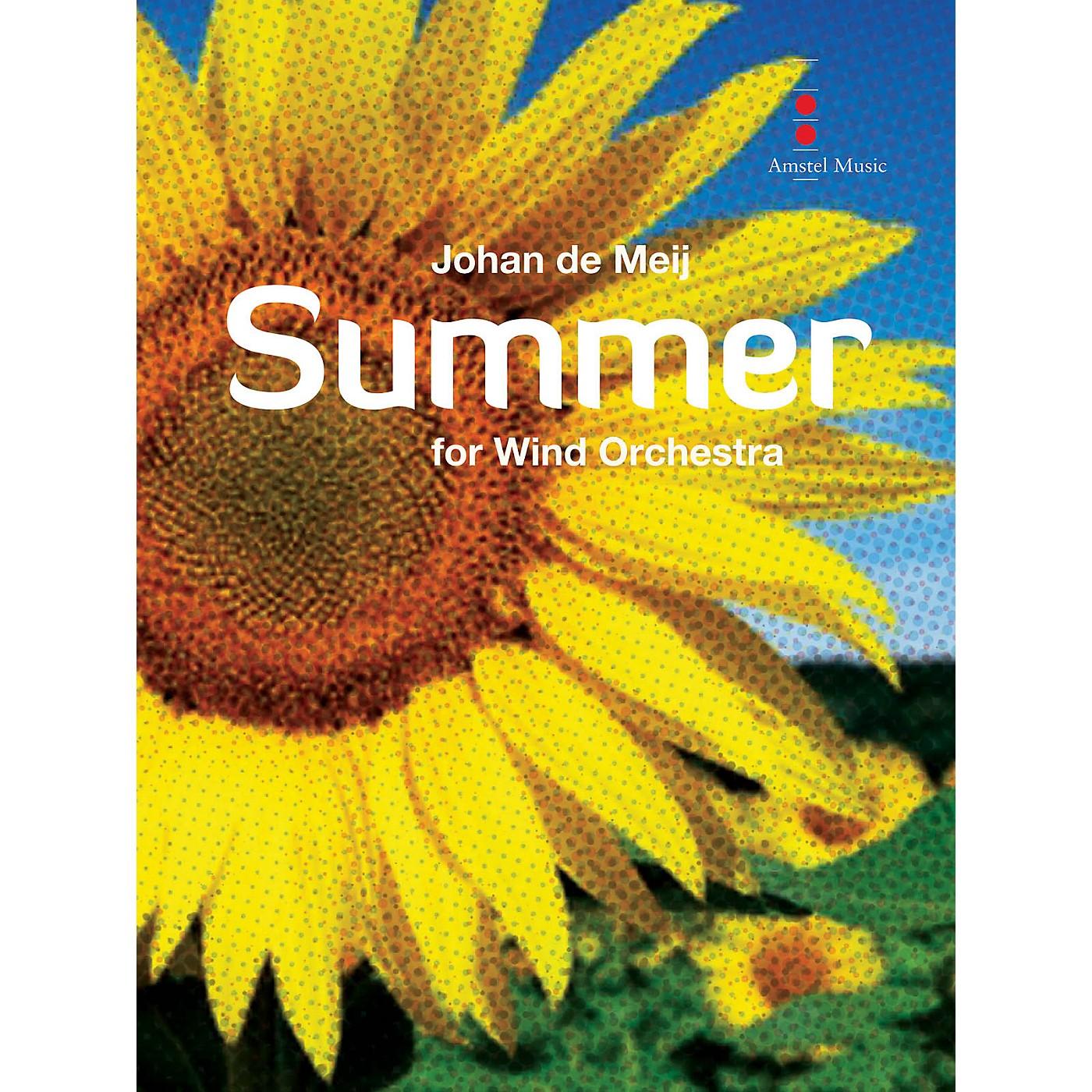 Amstel Music Summer (Full Score) Concert Band Composed by Johan de Meij thumbnail
