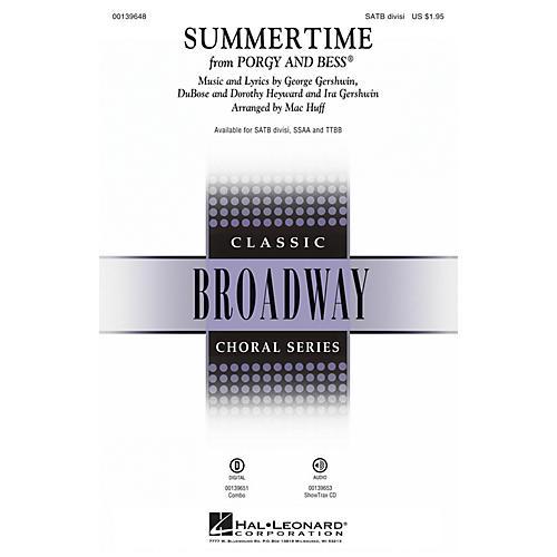 Hal Leonard Summertime (from Porgy and Bess) TTBB Arranged by Mac Huff thumbnail