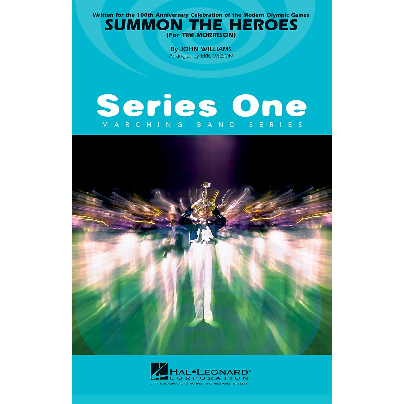 Hal Leonard Summon the Heroes Marching Band Level 2-3 Arranged by Eric Wilson thumbnail