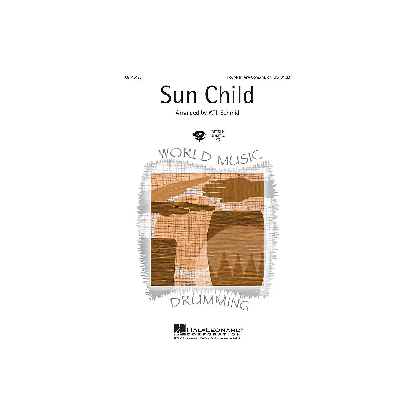 Hal Leonard Sun Child 4 Part Any Combination arranged by Will Schmid thumbnail