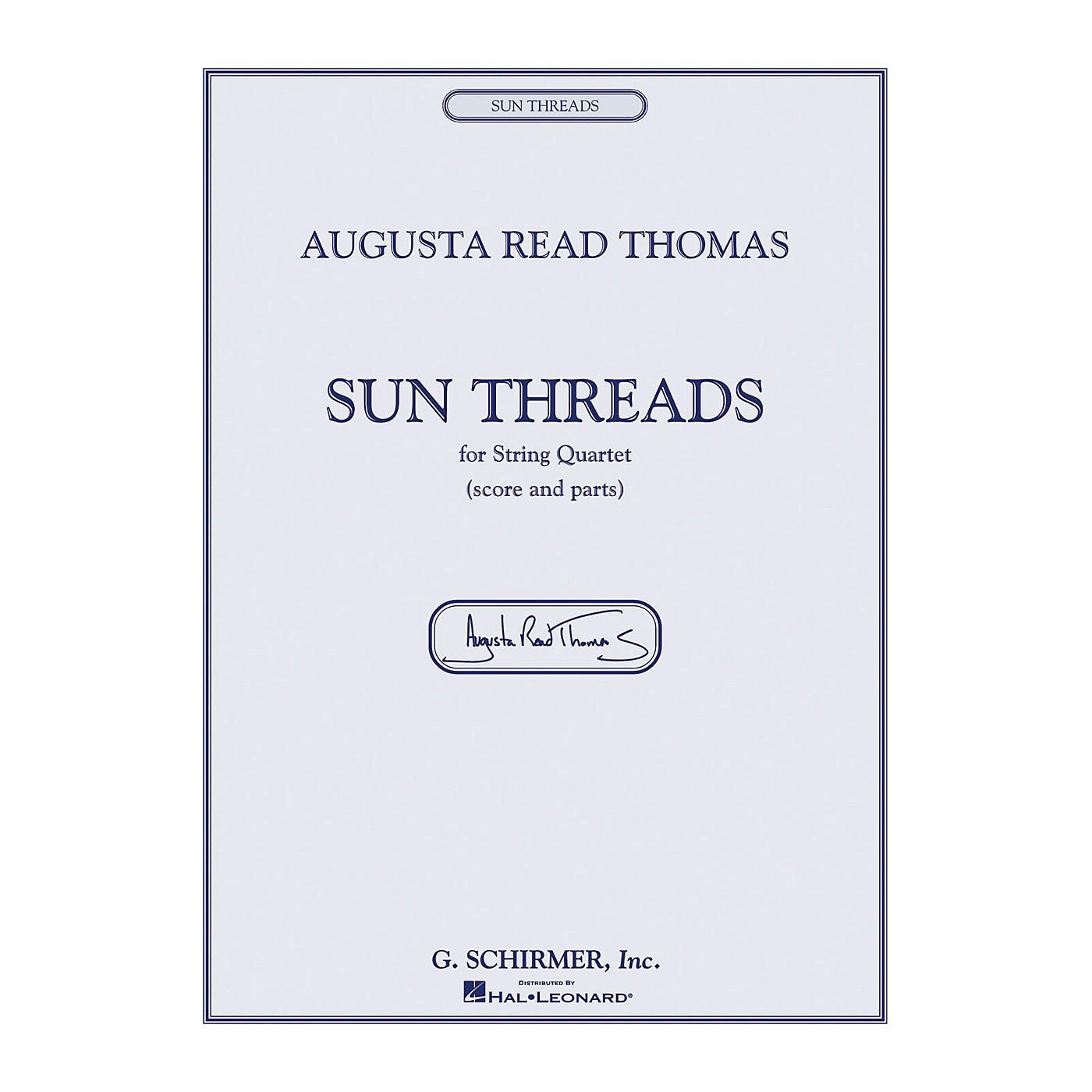 G. Schirmer Sun Threads String Series Composed by Augusta Read Thomas thumbnail