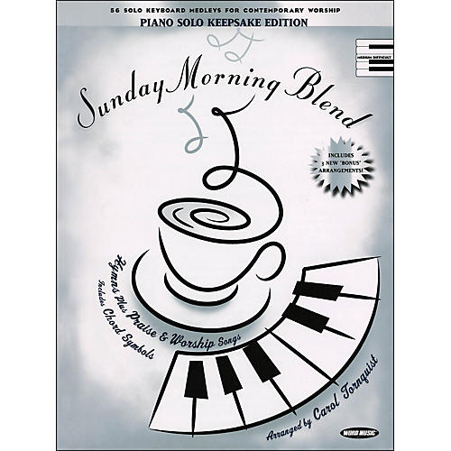 Word Music Sunday Morning Blend Keepsake Edition arranged for piano, vocal, and guitar (P/V/G) thumbnail