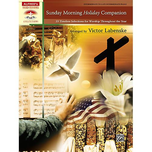 Alfred Sunday Morning Holiday Companion Intermediate  Late Intermediate Piano thumbnail
