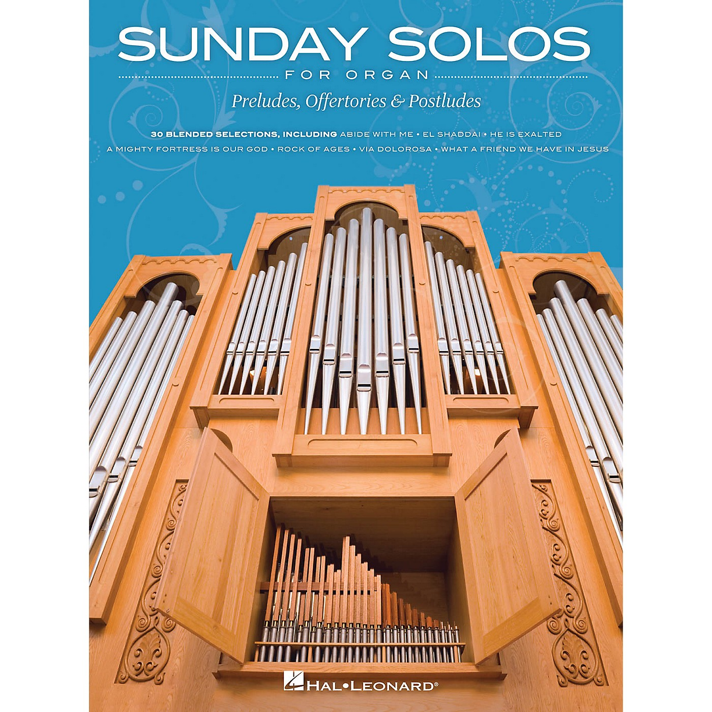 Hal Leonard Sunday Solos for Organ (Preludes, Offertories & Postludes) Organ Folio Series Softcover thumbnail