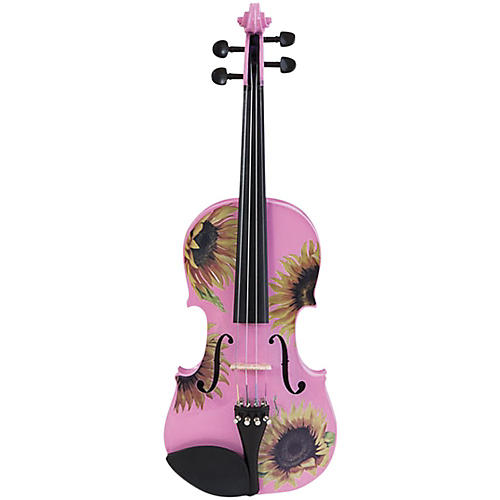 Rozanna's Violins Sunflower Delight Pink Series Violin Outfit thumbnail