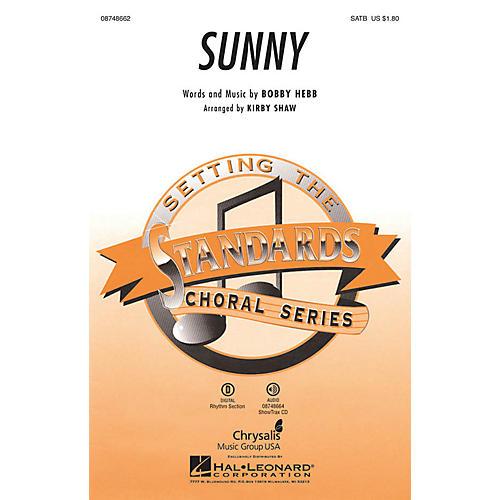 Hal Leonard Sunny SATB arranged by Kirby Shaw thumbnail