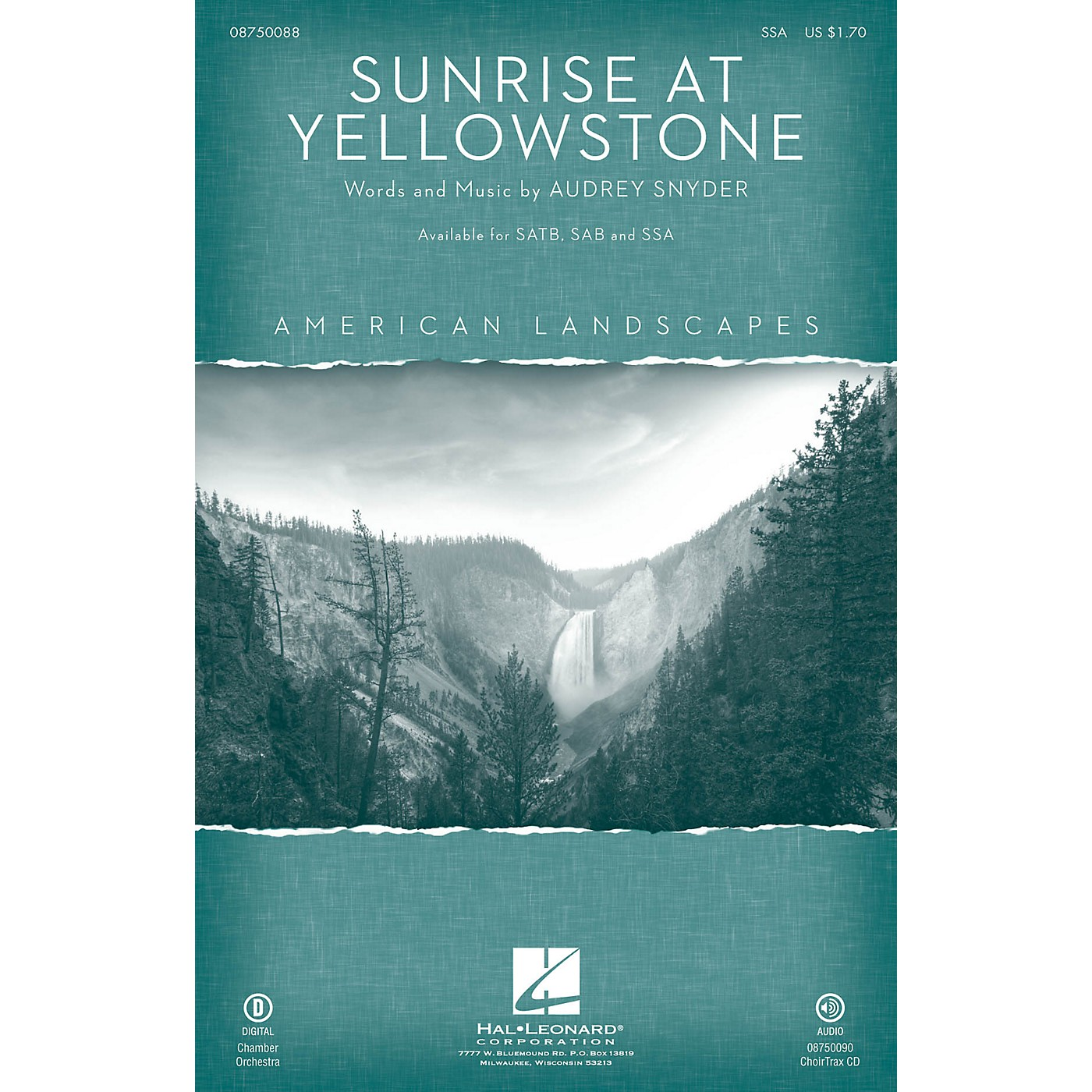 Hal Leonard Sunrise at Yellowstone (from American Landscapes) SSA thumbnail