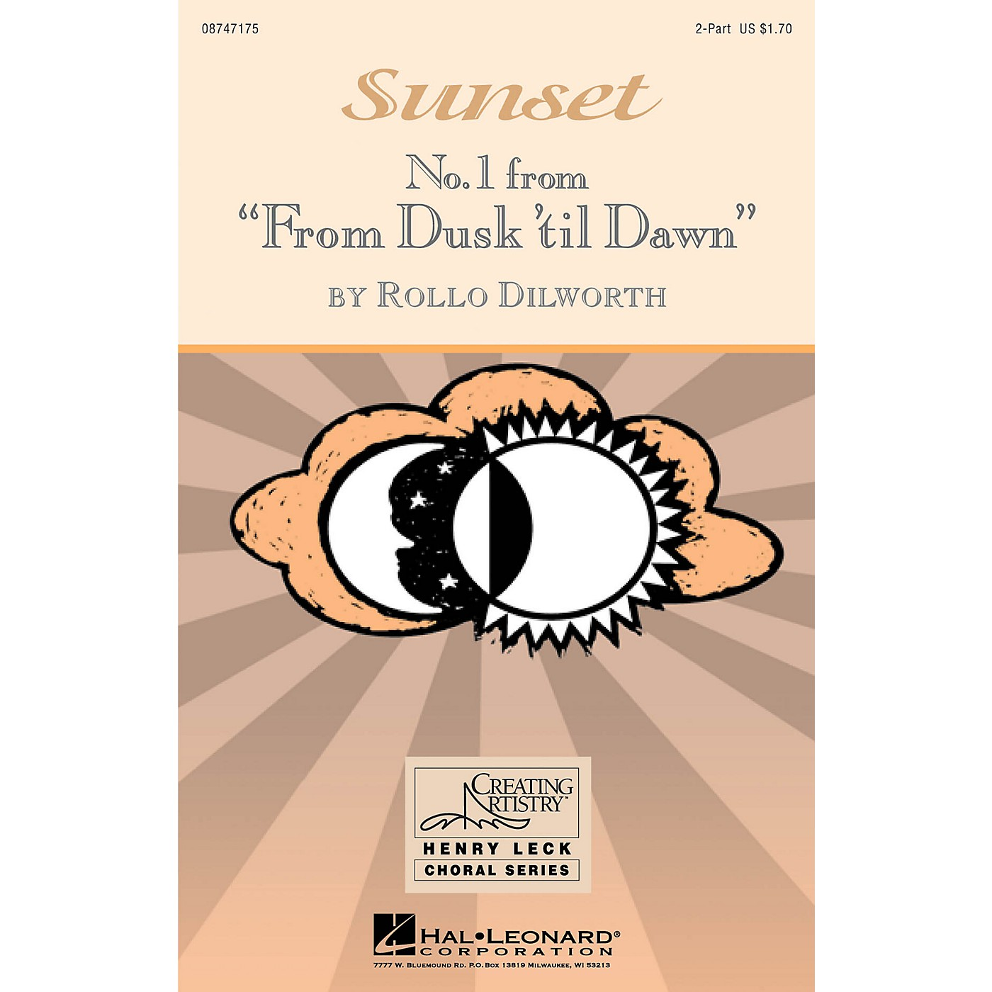 Hal Leonard Sunset (No. 1 from From Dusk 'Til Dawn) 2-Part composed by Rollo Dilworth thumbnail