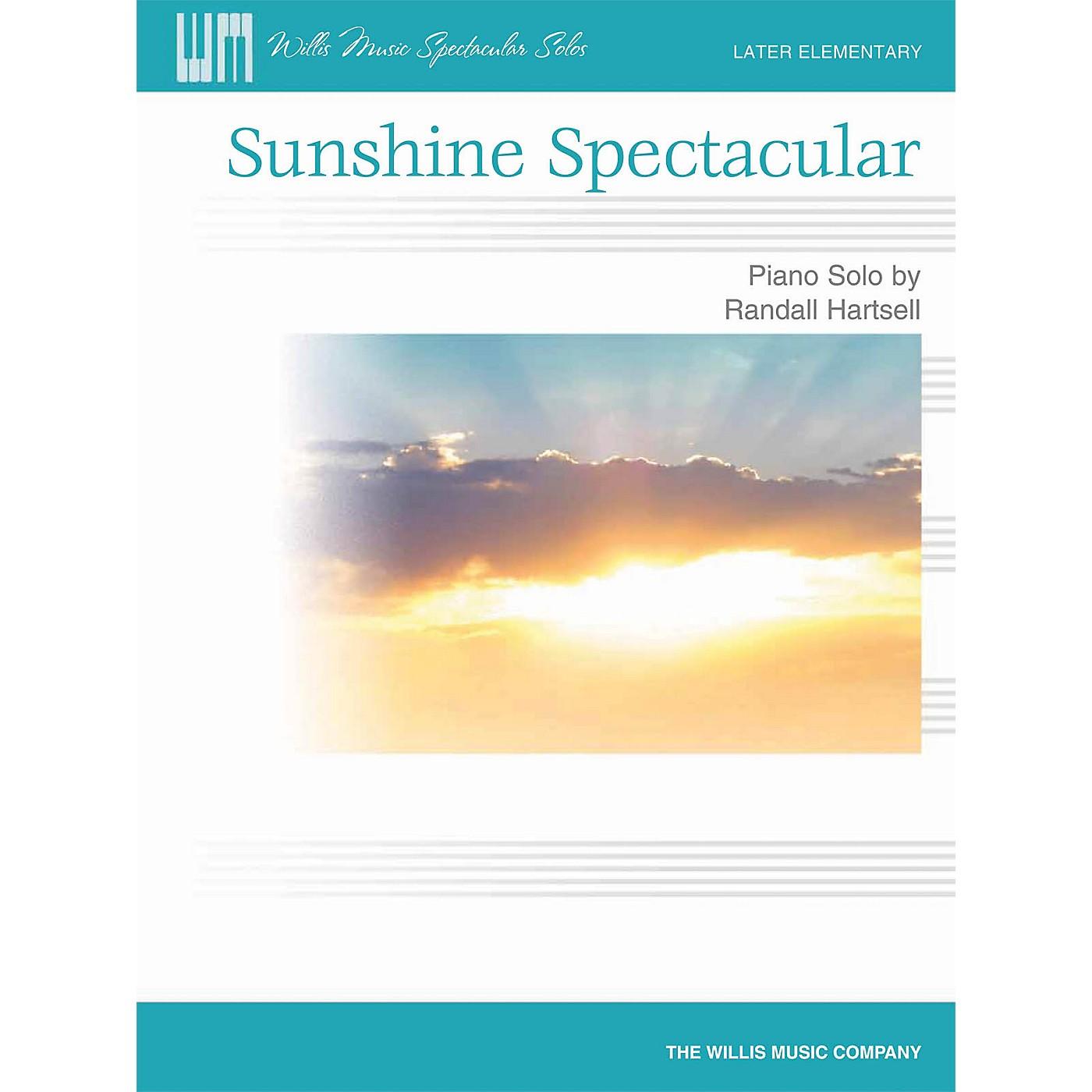 Willis Music Sunshine Spectacular (Later Elem Level) Willis Series by Randall Hartsell thumbnail