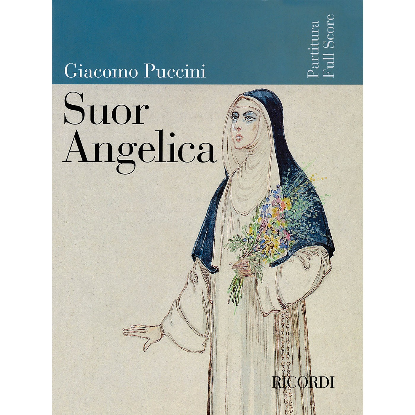 Ricordi Suor Angelica (Full Score) Misc Series  by Giacomo Puccini thumbnail