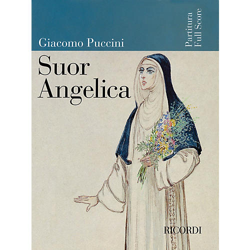 Ricordi Suor Angelica (Full Score) Misc Series  by Giacomo Puccini thumbnail