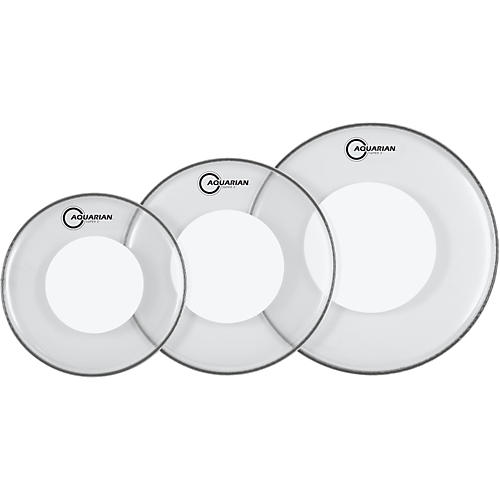 Aquarian Super-2 Drumheads with Power Dot Fusion Pack thumbnail
