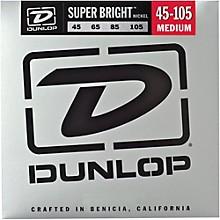 Dunlop Super Bright Nickel Medium 4-String Bass Guitar Strings
