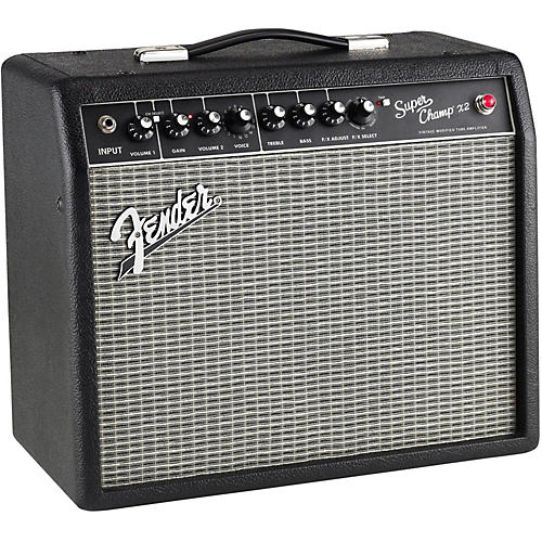 Fender Super-Champ X2 15W 1x10 Tube Guitar Combo Amp thumbnail