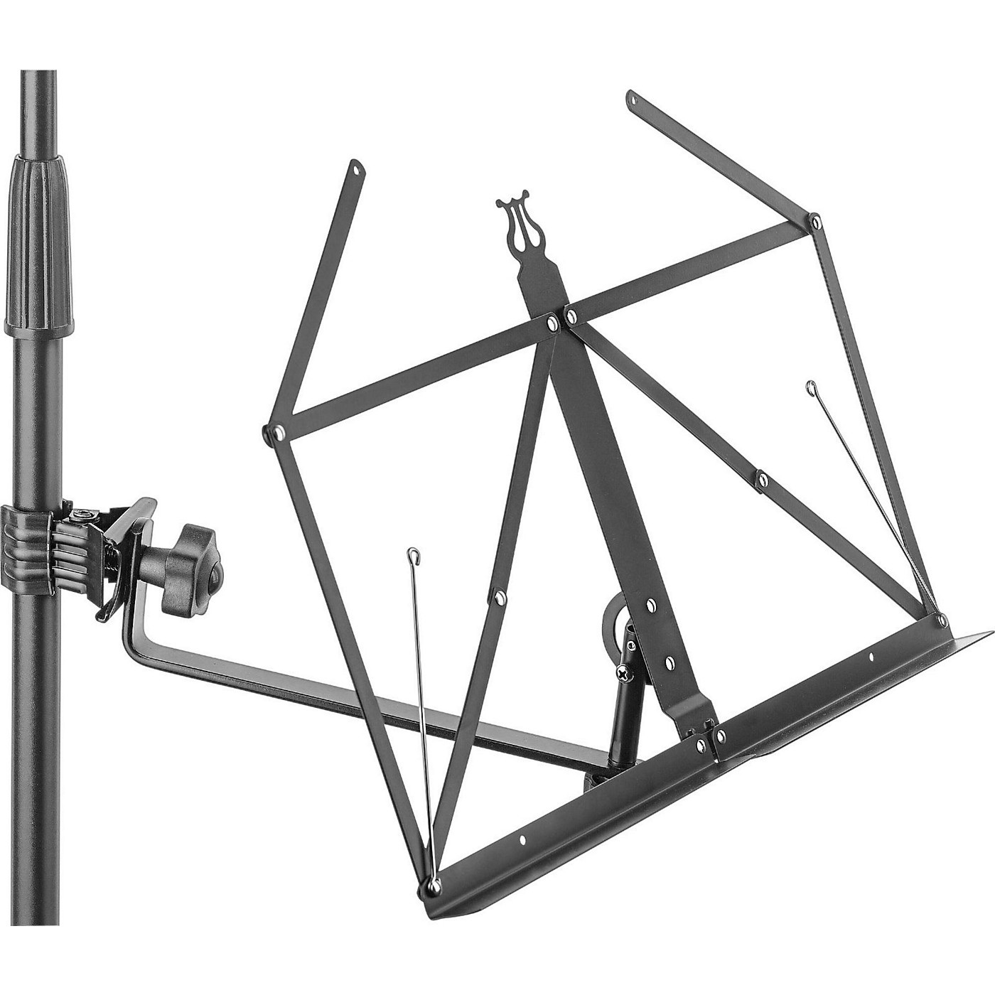 Stagg Super Clamp Folding Music Stand thumbnail