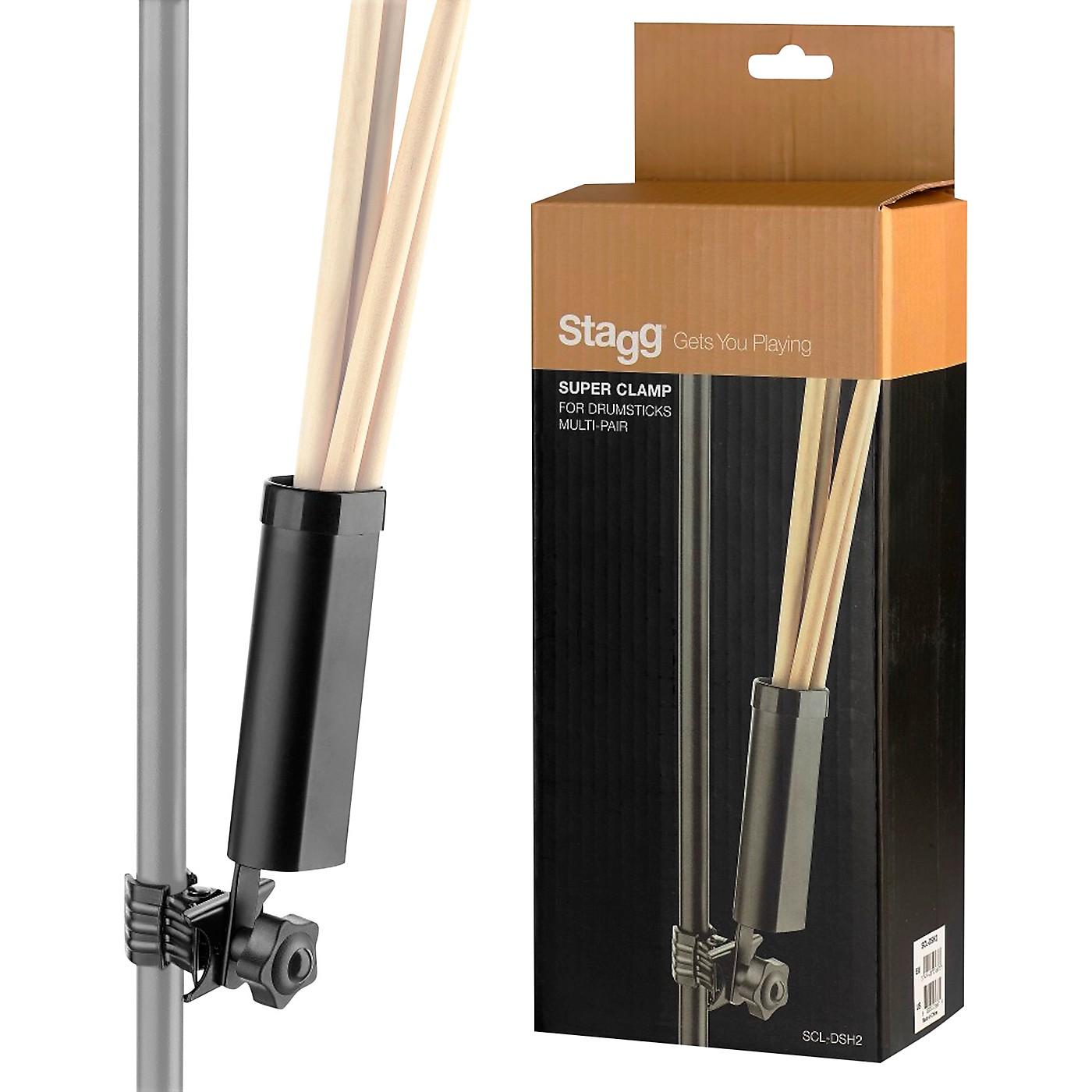 Stagg Super Clamp Multi-Pair Drum Stick Holder thumbnail