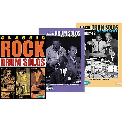 Hudson Music Super Classic DrumTrio DVD Pack thumbnail