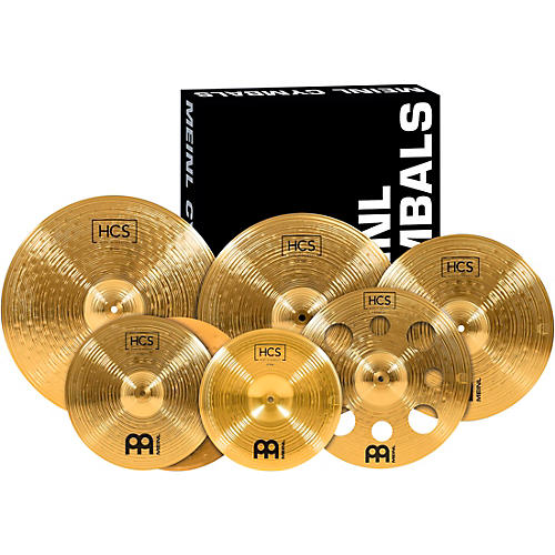 Meinl Super Cymbal Set with a Free 16 in. Crash thumbnail