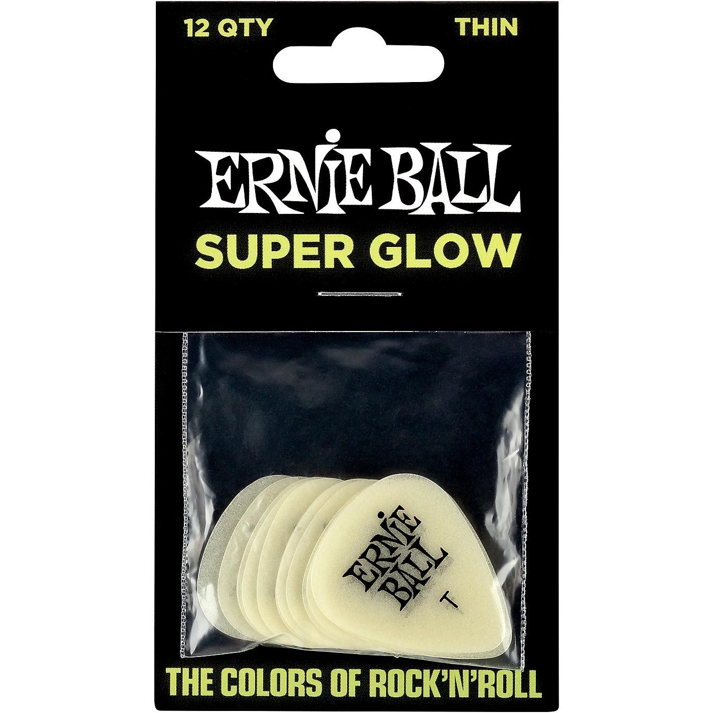 Ernie Ball Super Glow Guitar Picks thumbnail