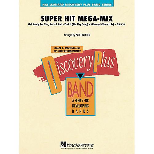 Hal Leonard Super Hit Mega-Mix - Discovery Plus Concert Band Series Level 2 arranged by Paul Lavender thumbnail