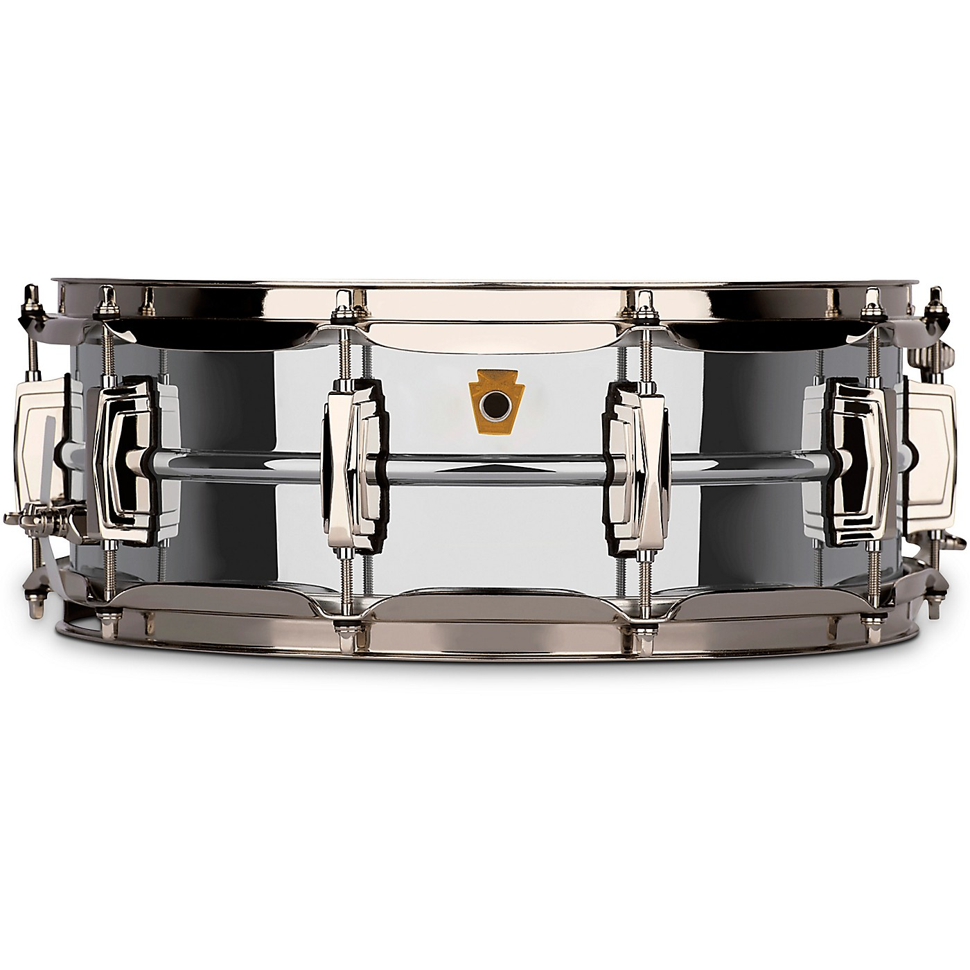 Ludwig Super Ludwig Chrome Brass Snare Drum with Nickel hardware thumbnail