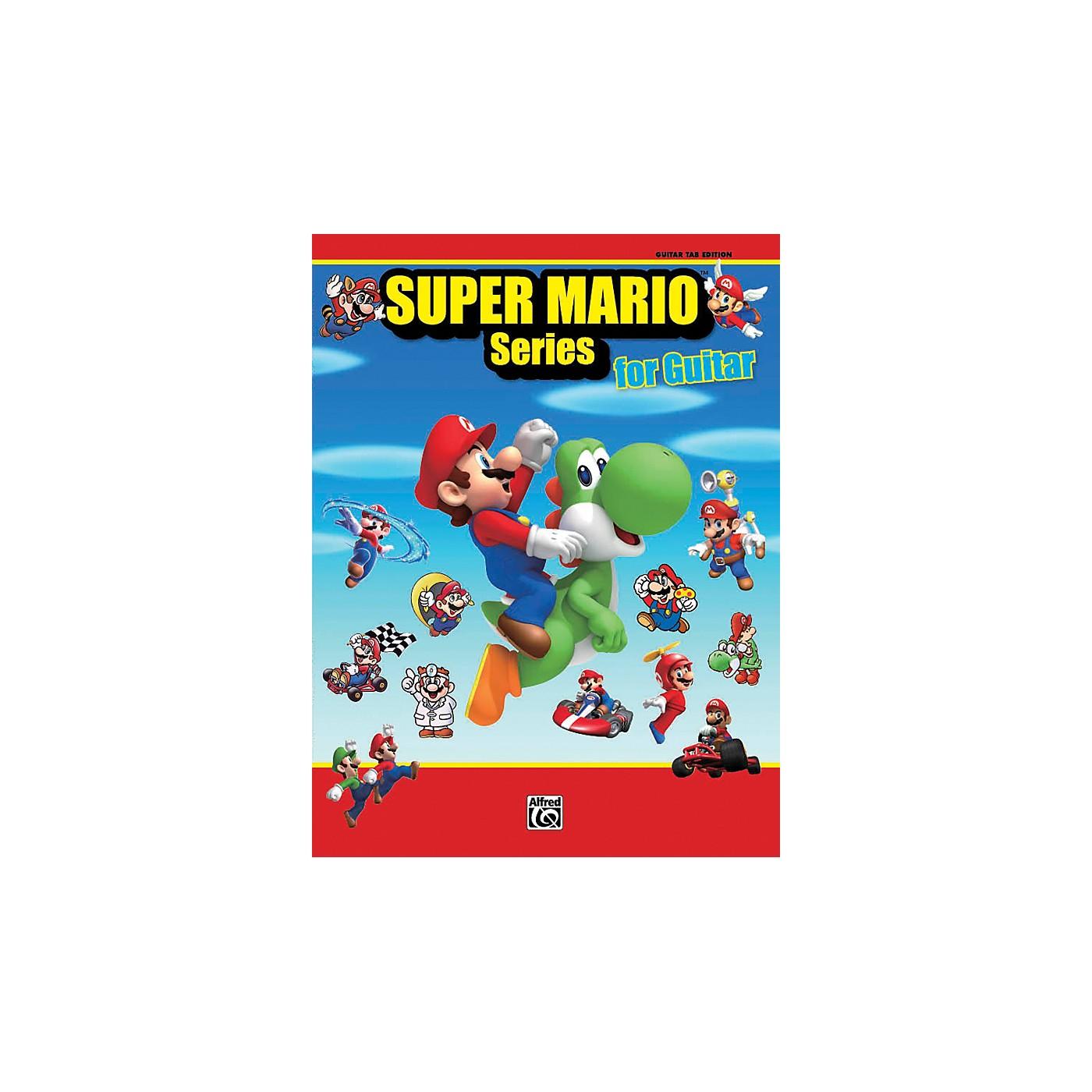 Alfred Super Mario Series for Guitar Book thumbnail