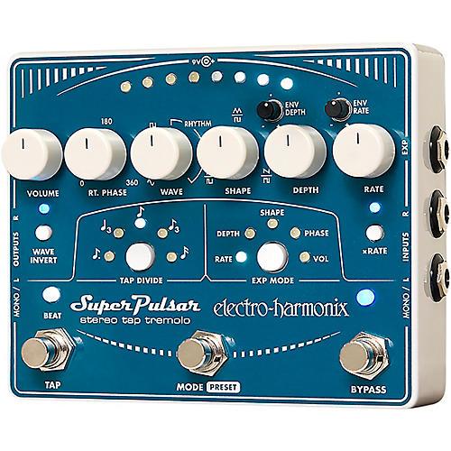 Electro-Harmonix Super Pulsar Tremolo Guitar Effects Pedal thumbnail