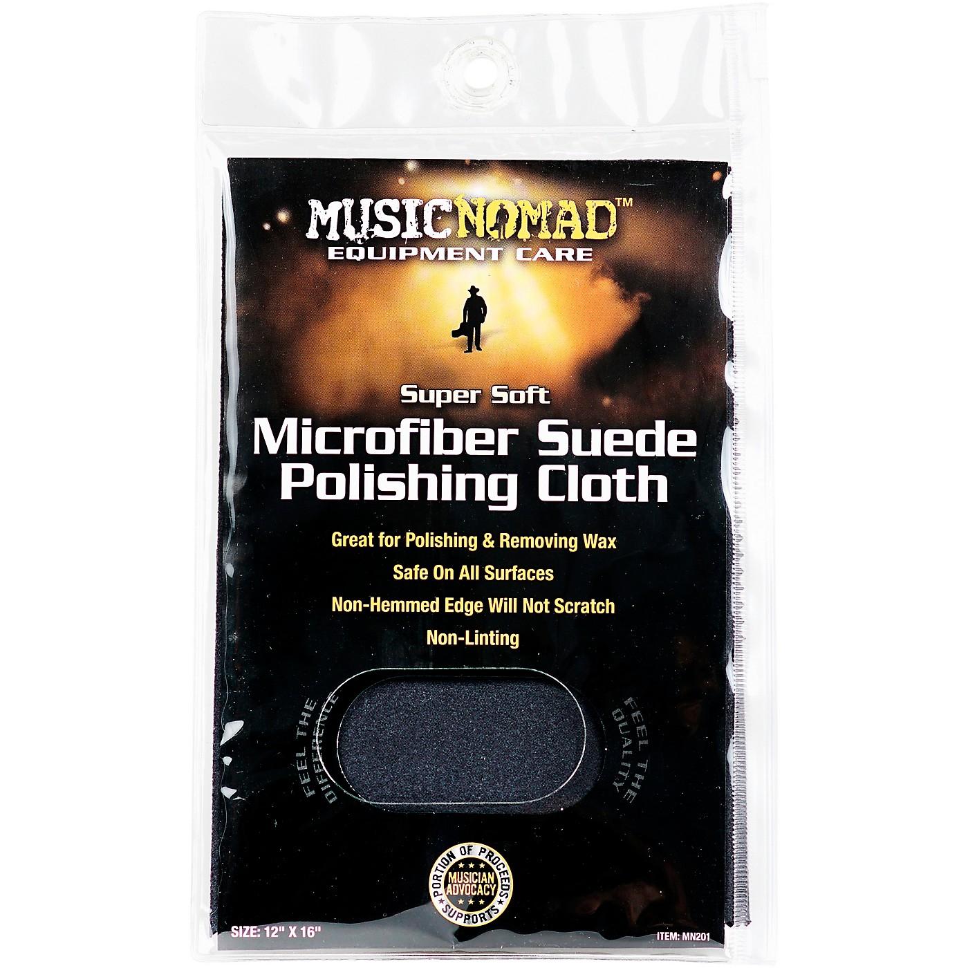 Music Nomad Super Soft Edgeless Microfiber Suede Polishing Cloth thumbnail
