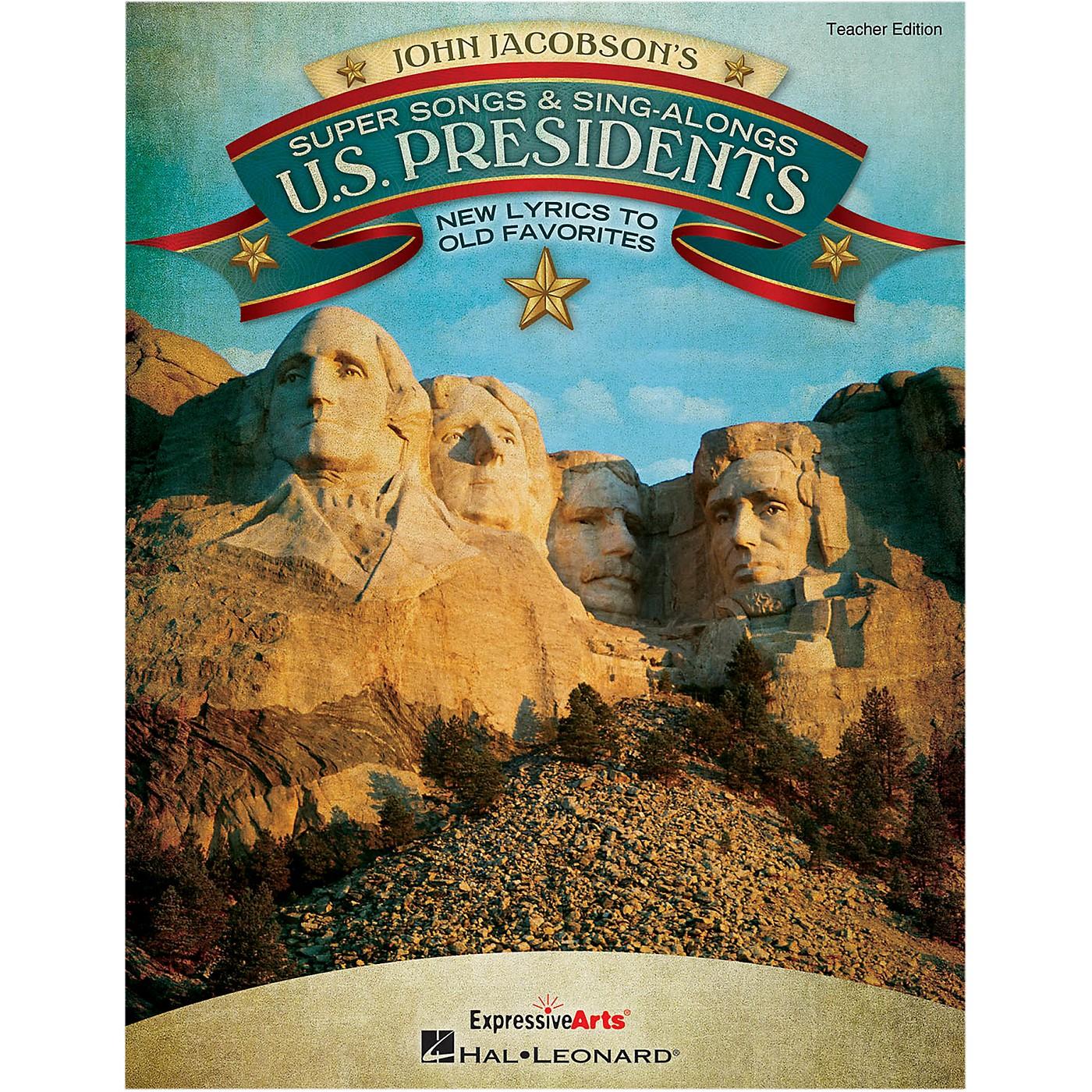 Hal Leonard Super Songs And Sing-Alongs: U.S. Presidents - New Lyrics to Old Favorites Perf/Acc CD thumbnail