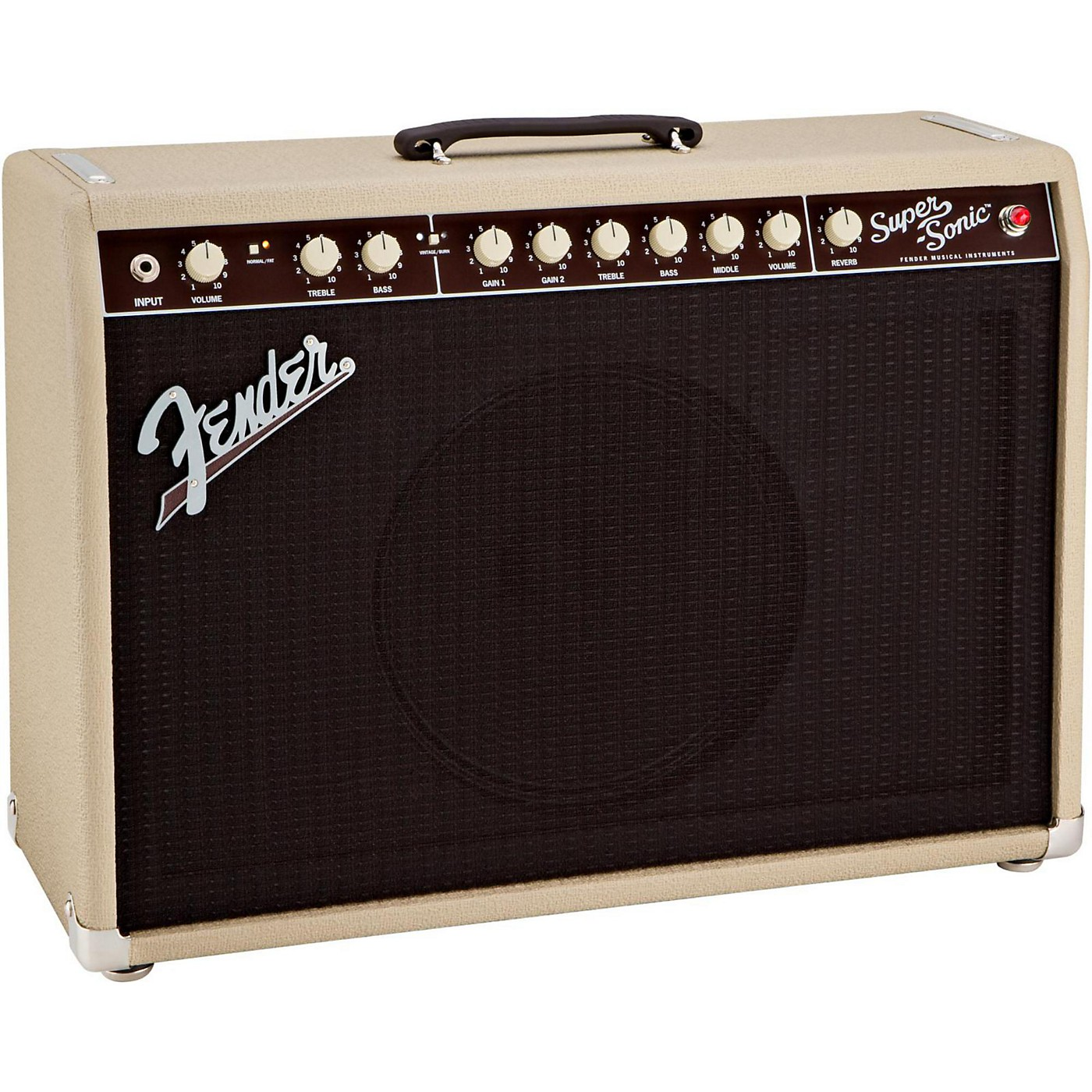 Fender Super-Sonic 22 22W 1x12 Tube Guitar Combo Amp thumbnail