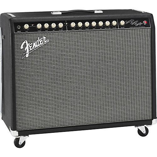 Fender Super-Sonic Twin 100W 2x12 Tube Guitar Combo Amp thumbnail