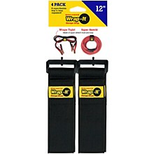 "Wrap-It Storage Straps Super Stretch 12""-4 Pk"