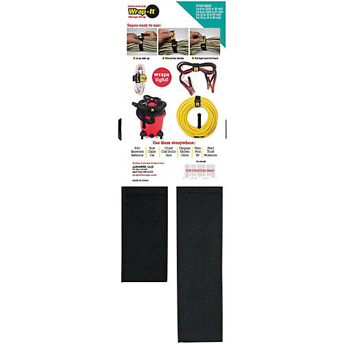 Wrap-It Storage Straps Super Stretch Assorted 4 Pk thumbnail
