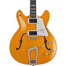 Hagstrom Super Viking Flame Maple Electric Guitar