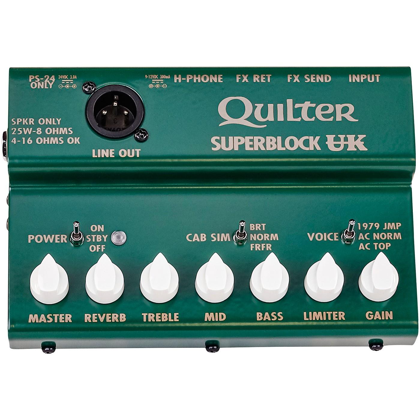 Quilter Labs Superblock UK Amplifier Head thumbnail